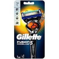 Gillette Fusion proglide 5 станок с двумя запасными картриджами