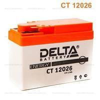 Аккумулятор Delta CT 12026 (12V / 2.5Ah) [YTR4A-BS]