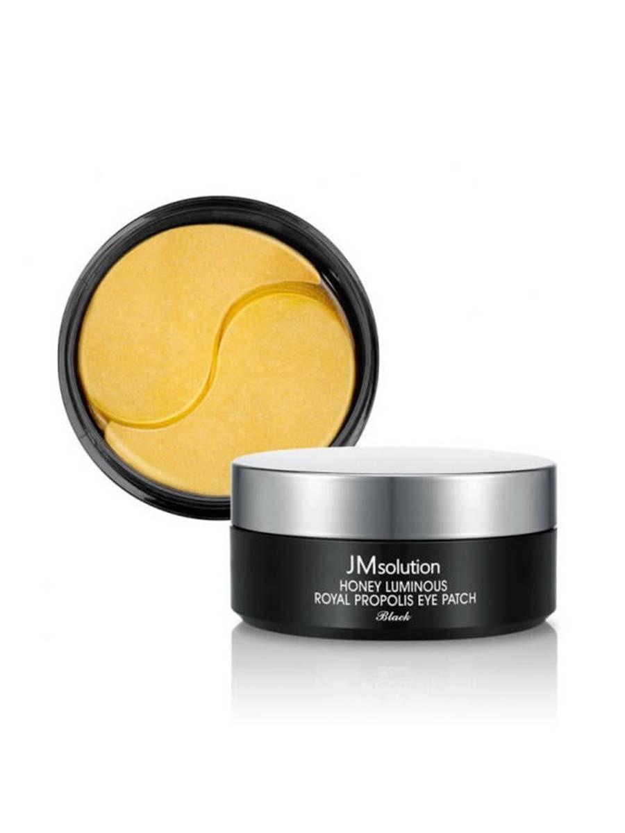 Гидрогелевые патчи с прополисом JMsolution Honey Luminous Royal Propolis Eye Patch (60шт.)