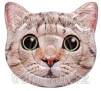 """Надувной плотик """"Кот"""" 147х135 см Intex"""