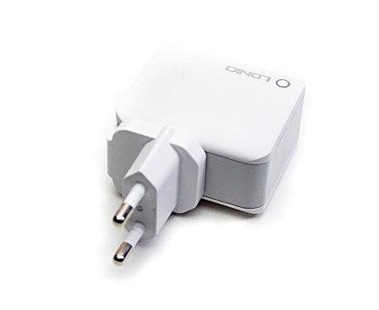 Сетевой USB адаптер LDNIO 3303, 3x USB, Fast Charge, Quick Charge 3.0