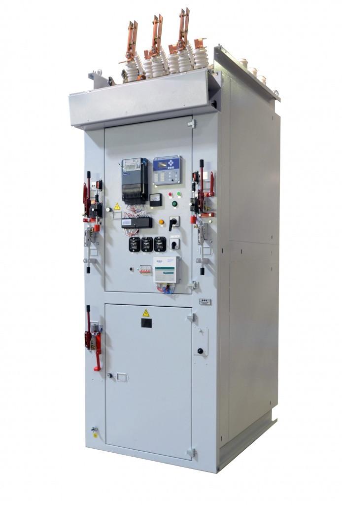 """Ячейка КСО-292 У3, Линия с вакуумным выключателем ЗАН5 800А пр-во """"Siemens"""" с микропроцессорной защи"""