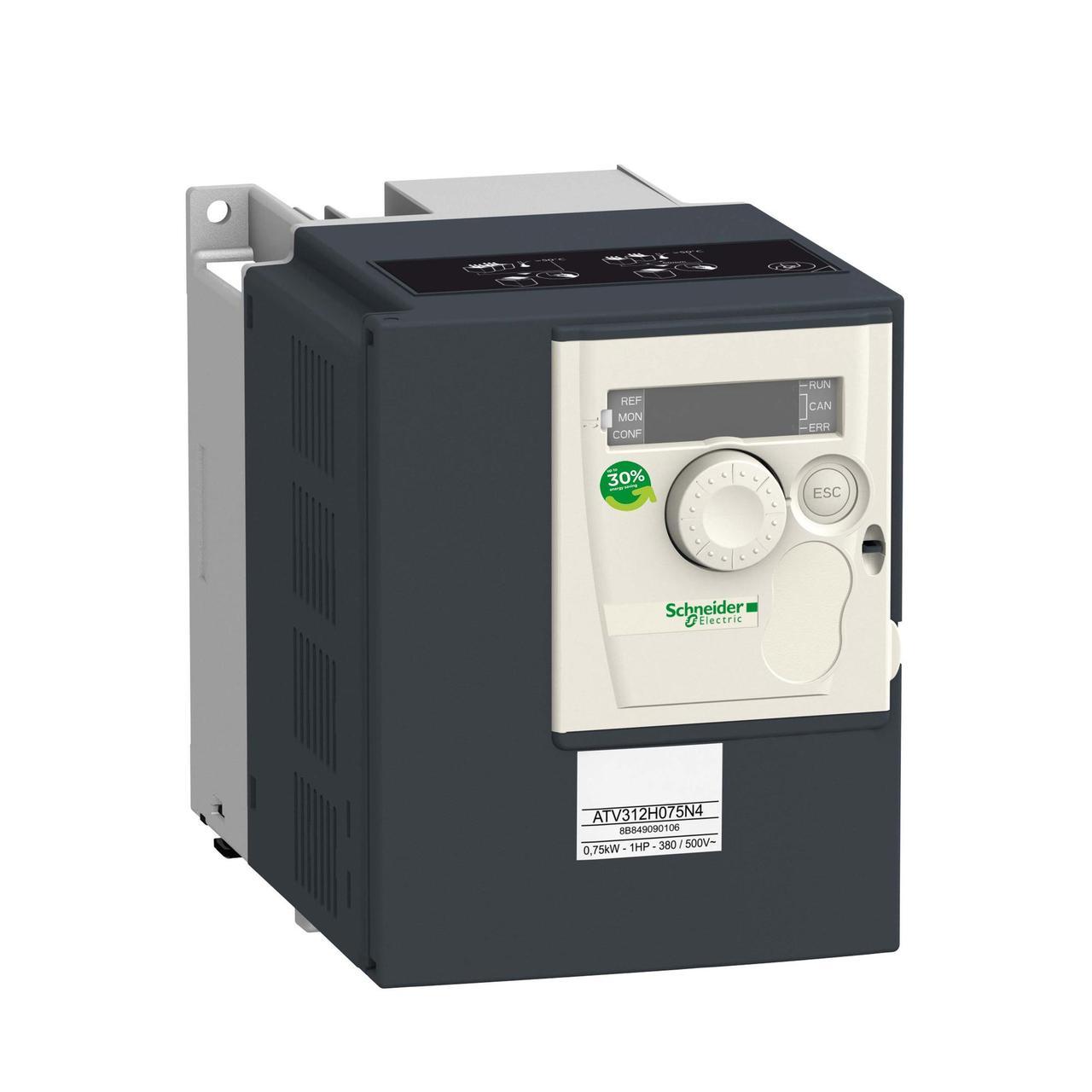 Частотный преобразователь ATV312 4квт 500В 3Ф /ATV312HU40N4/