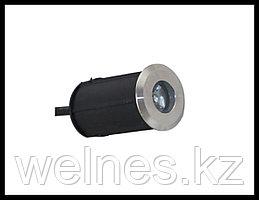 Прожектор для бассейна LED 100, закладной, под мозайку (1W, CW, IP68)