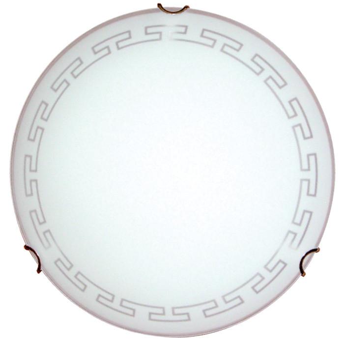 Светильник 300 Этруска НПБ 01-60-125 М02 матовый белый/кл.зол. MAXEL 62828