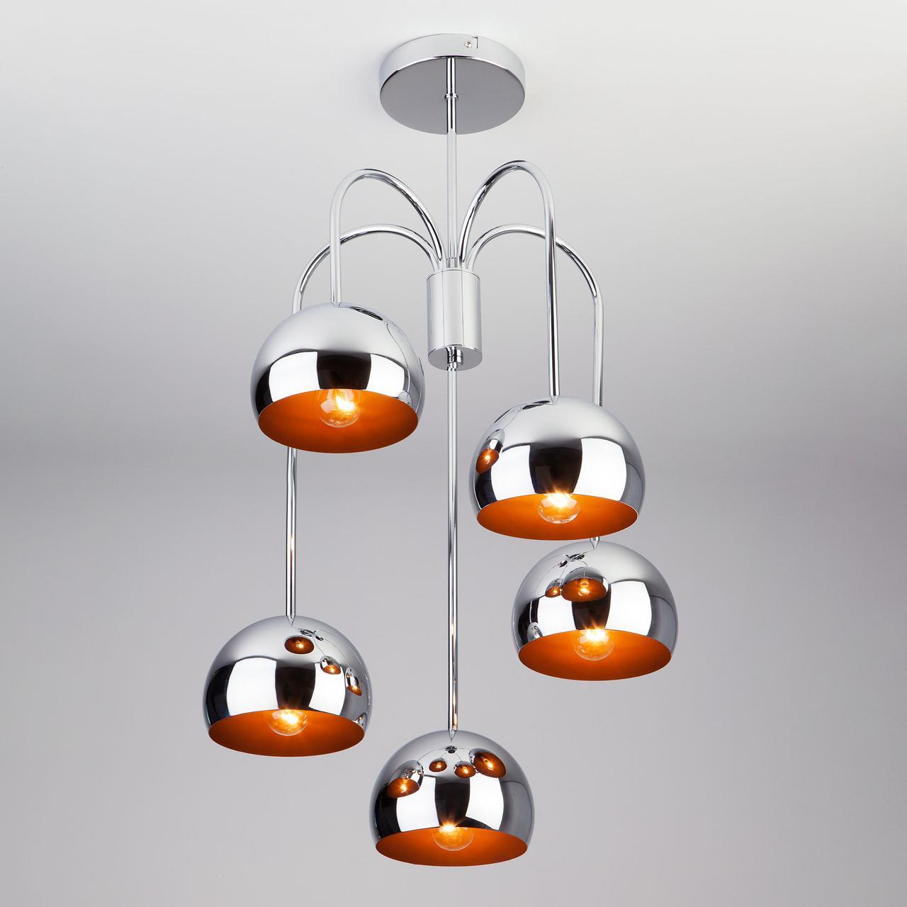 70067/5 подвесной светильник/ хром
