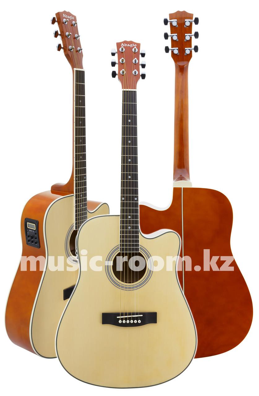 Электроакустическая гитара Adagio MDF4171CEN