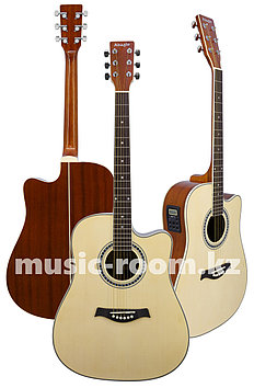 Гитара электроакустическая Adagio MDF-4122СE N