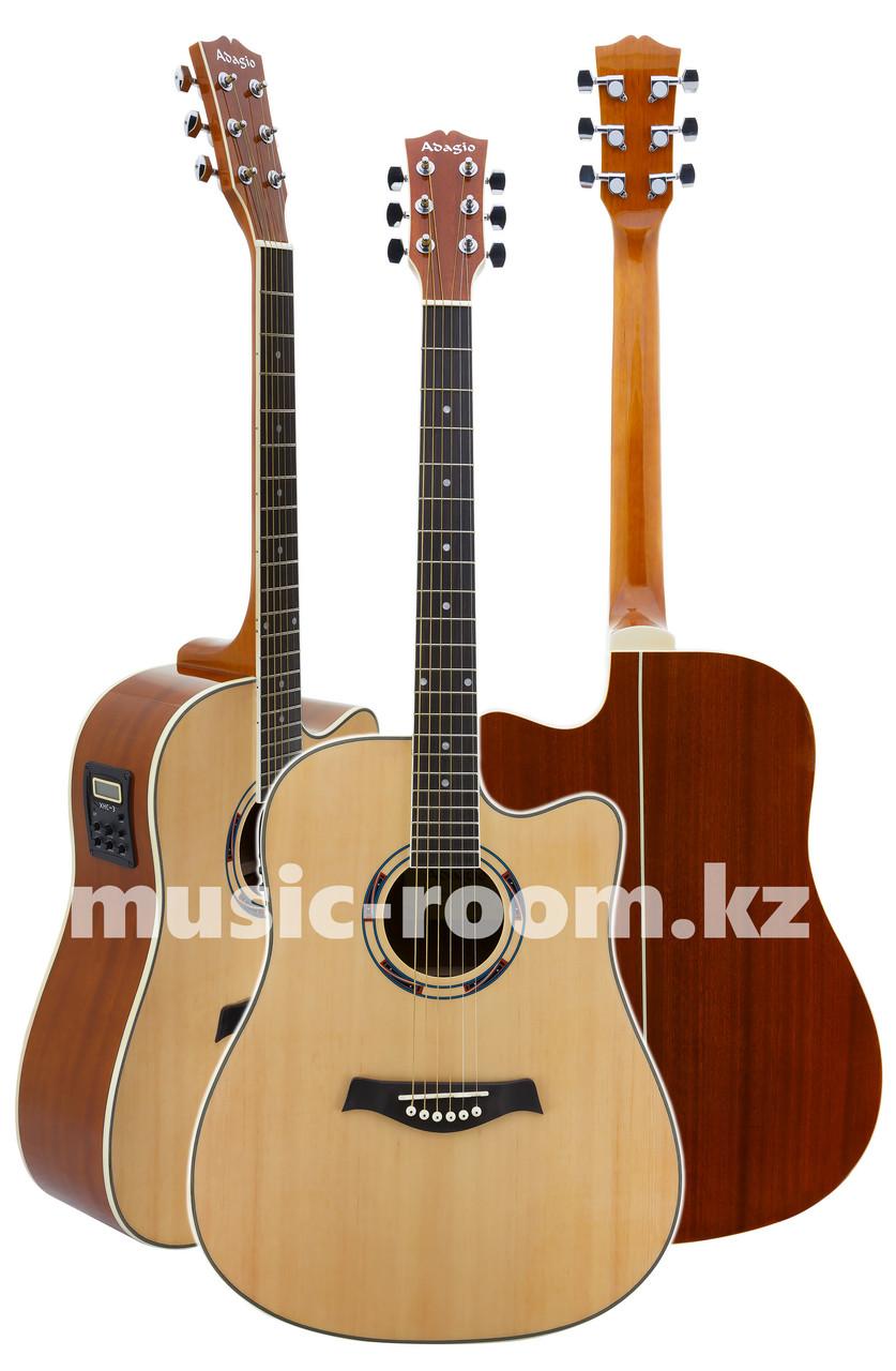 Электроакустическая гитара  Adagio MDF-4182 CEN