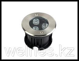 Прожектор для бассейна LED 300, закладной, под мозайку (3W, CW, IP68)
