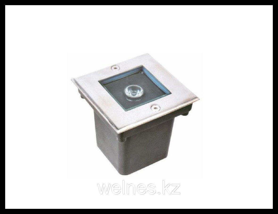 Прожектор для бассейна LED GR010, закладной, под мозайку (1W, CW, IP68)