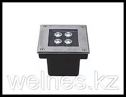 Прожектор для бассейна LED GR040, закладной, под мозайку (4W, CW, IP68)
