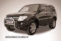 Кенгурятник d57 низкий Mitsubishi Pajero IV
