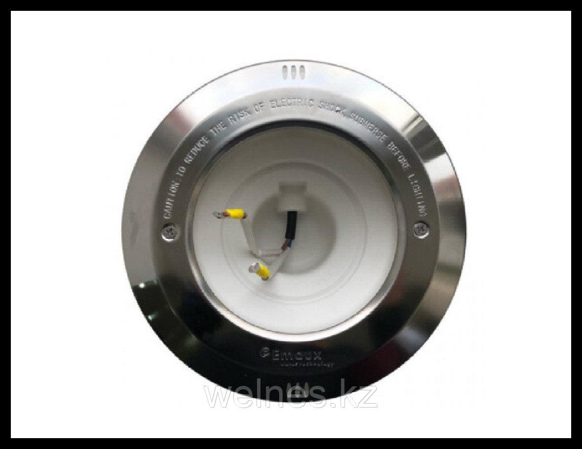 Закладная часть для прожектора, корпус - пластик с накладкой из нержавеющей стали