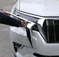 Хром ресничка на фару Land Cruiser Prado 150 2018-, фото 1