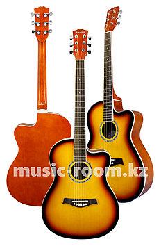 Акустическая гитара Adagio MDF-3917C SB