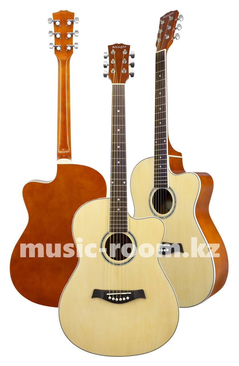 Акустическая гитара Adagio MDF-3917СN