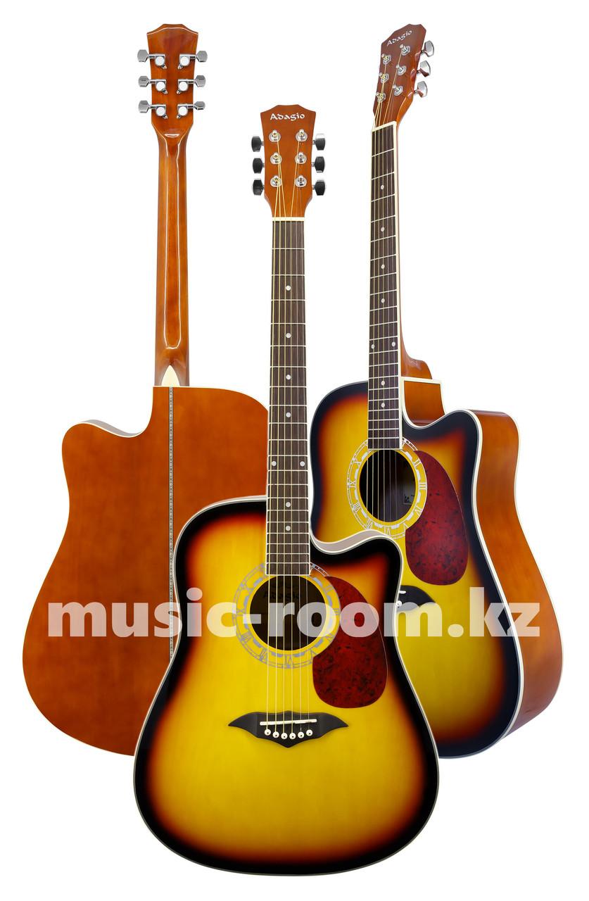 Акустическая гитара  Adagio KN-41BS