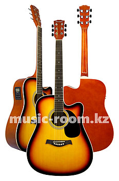Электроакустическая гитара Adagio MDF4171CESB