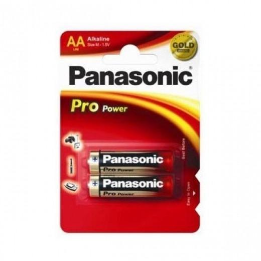 Батарейки Panasonic Pro Power LR6PPG/2BP AA 1,5V (2 шт)