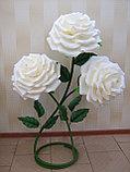 Большие Цветы. Стойка из трех роз. Creativ 1216, фото 6