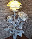Большие Цветы. Стойка из трех роз. Creativ 1216, фото 5