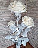 Большие Цветы. Стойка из трех роз. Creativ 1216, фото 4