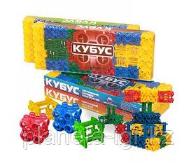 Кубус. Обучающий игровой конструктор.40 элементов №1, №2. Биплант