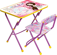 Детский стол и стул Ника Маленькая принцесса КУ1/17, фото 1