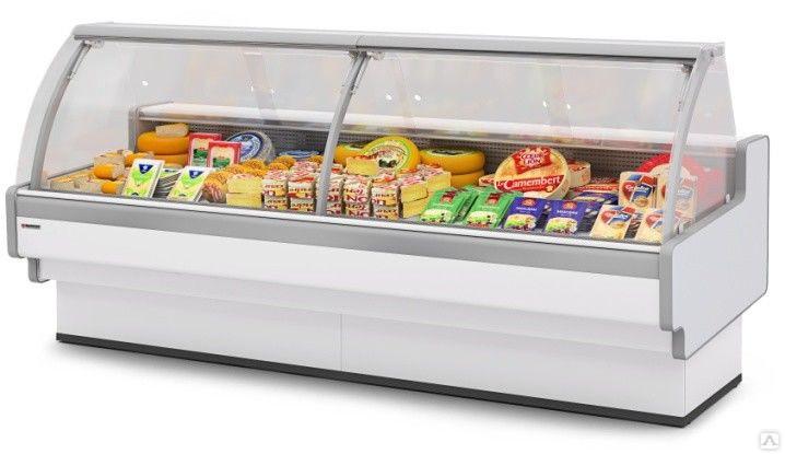 Холодильная витрина Aurora Slim Plug-In 125 вентилируемая Self