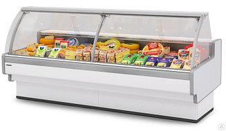 Холодильная витрина Aurora Slim Plug-In 375 вентилируемая Self
