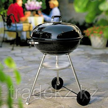 Угольный гриль Weber Compact Kettle (47 см), черный цвет, фото 2
