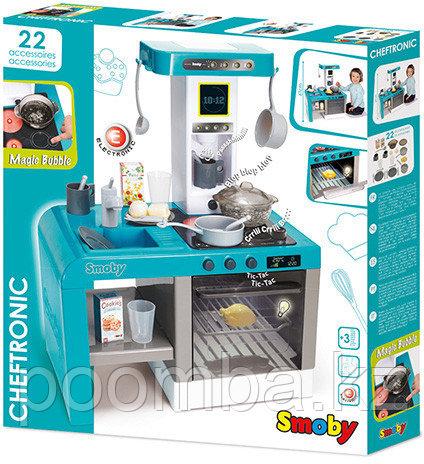 Детская электронная кухня Tefal Cheftronic, кипение, свет, звук