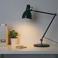 АРЁД Лампа рабочая, зеленый, зеленый