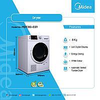 Сушильная машина Midea MDC80-C01, фото 3