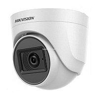 Hikvision DS-2CE76D0T-ITPFS (2,8 мм) HD TVI 1080P  купольная видеокамера