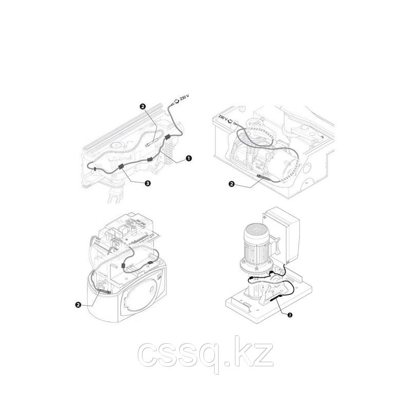 Нагревательный кабель для BX, BK, BY, FAST, FERNI и FROG (арт.001PSRT02)