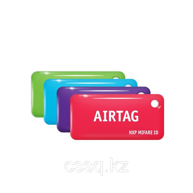 Брелок AIRTAG Mifare ID 64byte, 4 byte nUID (standard, цвет фиолетовый,)