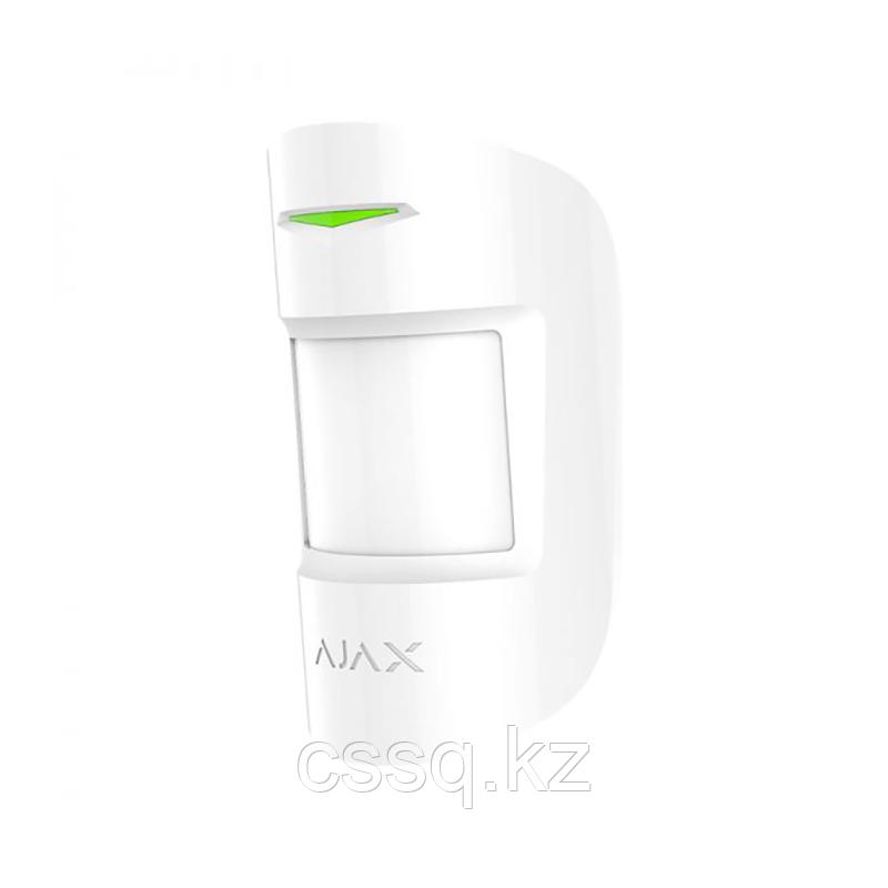 MotionProtect Plus white Датчик движения с микроволновым сенсором и с иммунитетом к животным