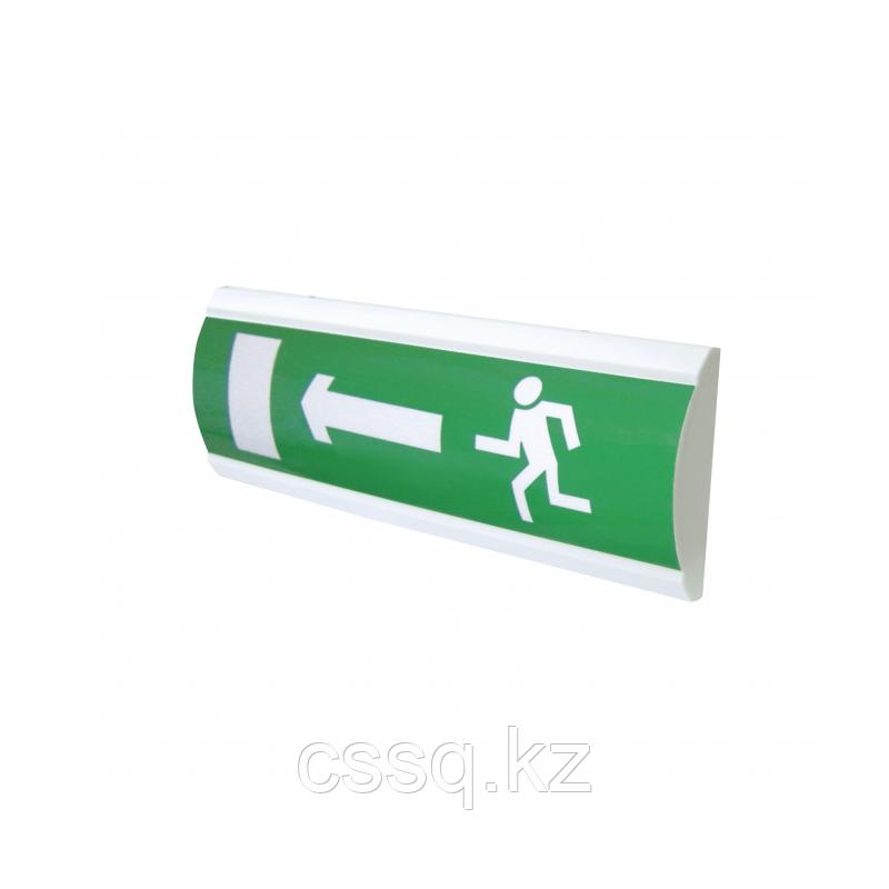 """ЛЮКС-24 """"Человек стрелка влево дверь"""" Оповещатель световой, 24В табло"""