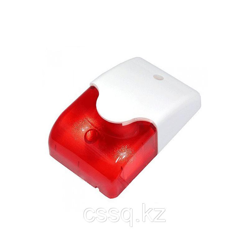 MR100 RED Сирена со стробом вандалозащищенная уличная