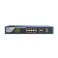Hikvision DS-3E1310P-E PoE свитч 8-портовый