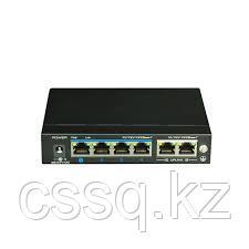 UTEPO UTP3-GSW04-TPD60 (Адаптер) Коммутатор 4-портовый неуправляемый PoE 4К