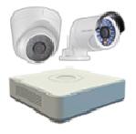 Hikvision DS-J142I-3 Комплект видеонаблюдения (IP 2 Видеокамеры+ Видеорегистратор)