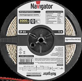 Лента СД NLS-3528WW120-9.6-IP65-12V R5 71 411 Navigator