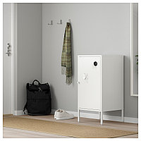 ХЭЛЛАН Шкаф, белый, белый 45x75 см