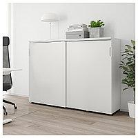 ГАЛАНТ Шкаф с раздвижными дверцами, белый, белый 160x120 см