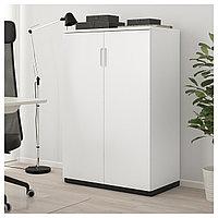 ГАЛАНТ Шкаф с дверями, белый, 80x120 см