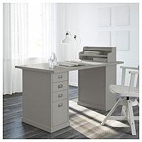 КЛИМПЕН Тумба с ящиками, светло-серый серый, светло-серый 33x70 см