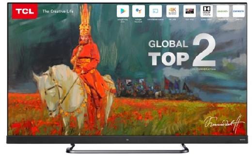 Телевизор TCL Smart 4K UHD L55C8M
